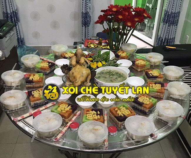 Địa chỉ đặt xôi chè cúng, gà cúng, xôi cưới hỏi tại Sài Gòn